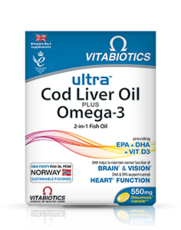 Ultra cod liver oil plus omega 3
